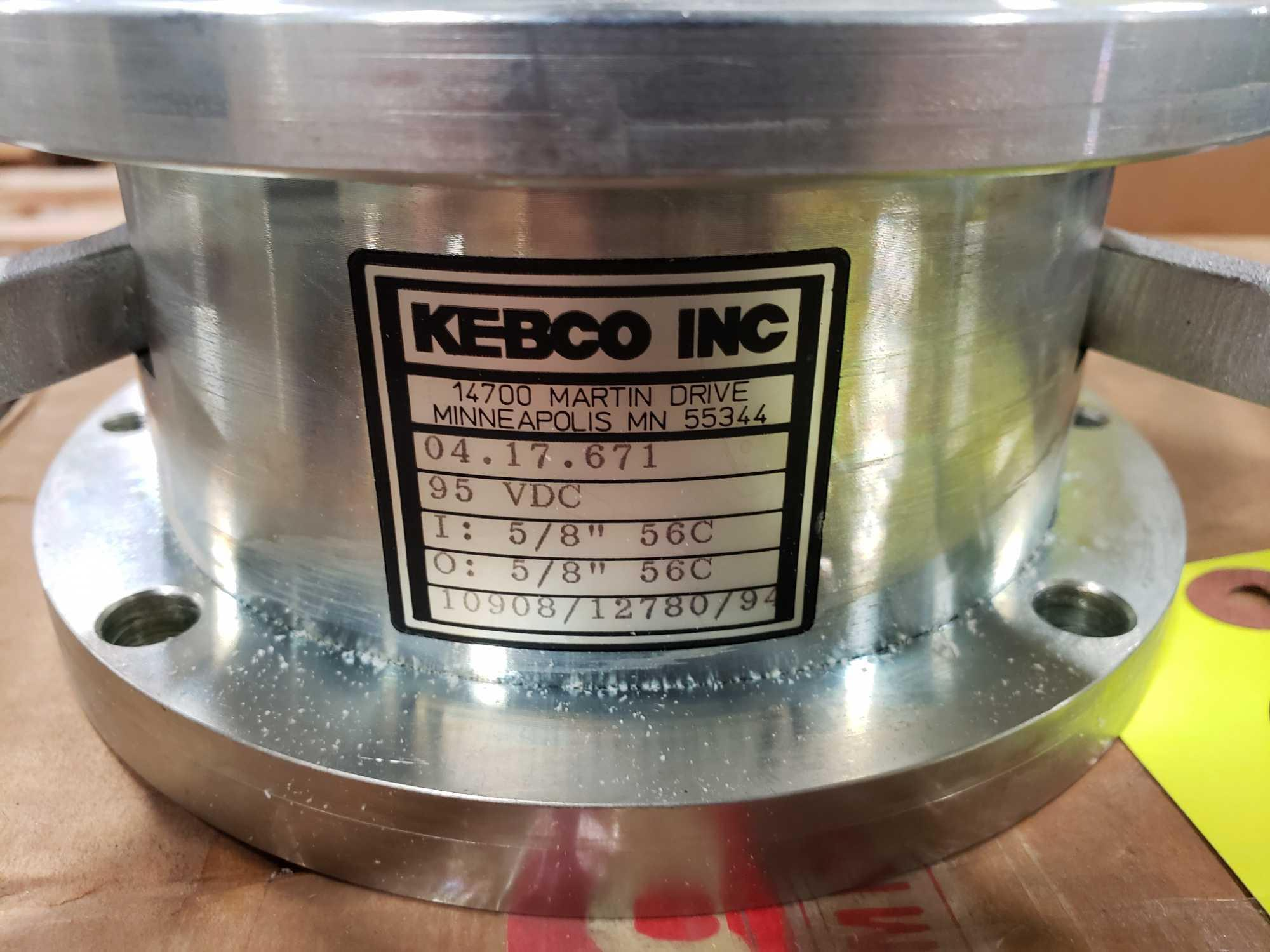 Kebco brake model 04.17.671, 95vdc, 56c output, 56c input. New in box. - Image 2 of 3