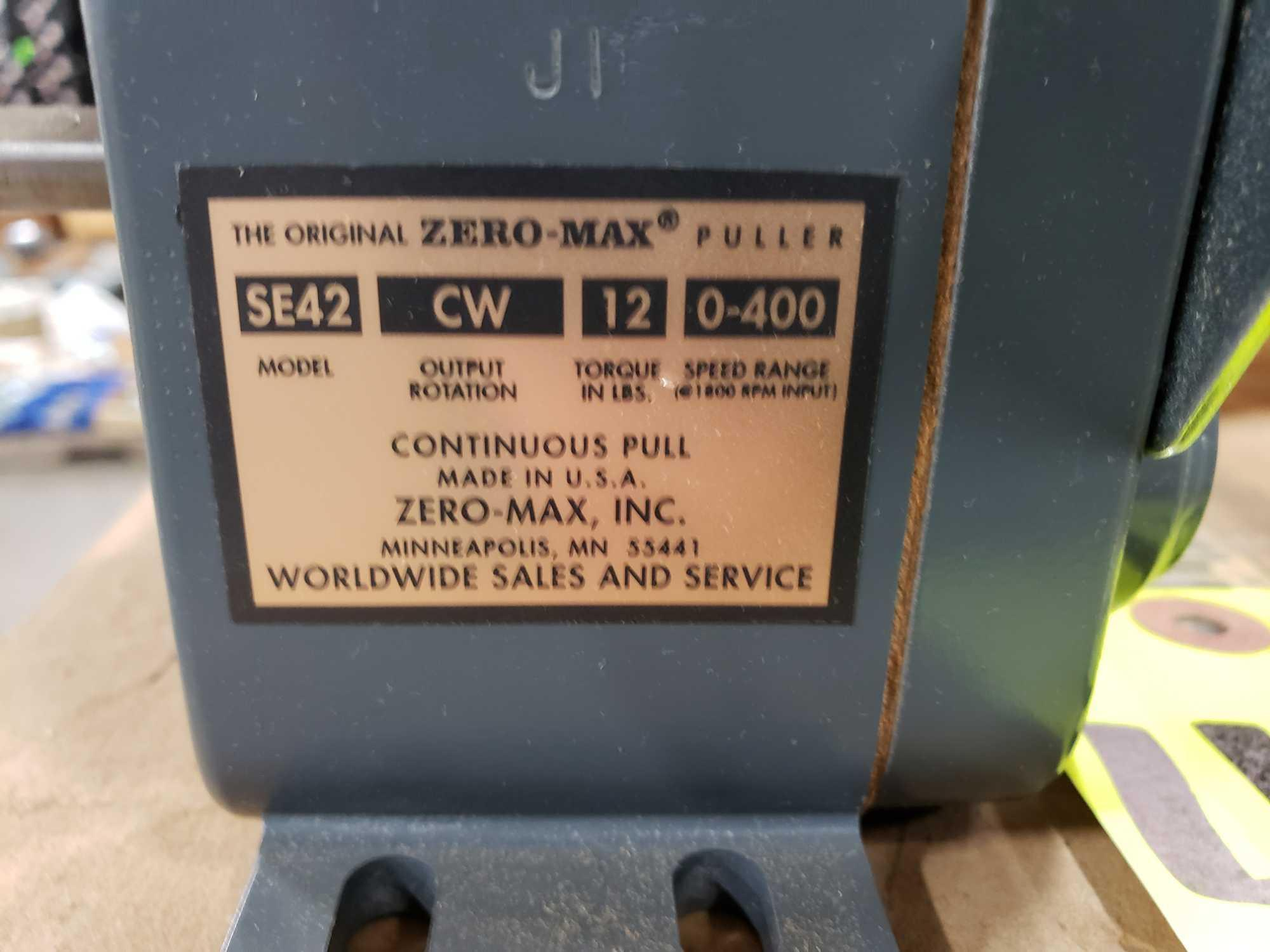 Zero-max drive power block model SE42, CW output rotation, 12lb torque, 0-400 speed range. New. - Image 2 of 2