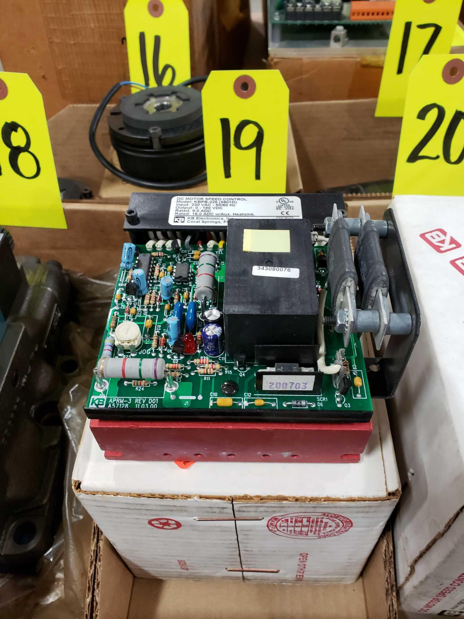 KB Penta Power reversing controld drive. Model KBPB-225, part 8901D. New in box.