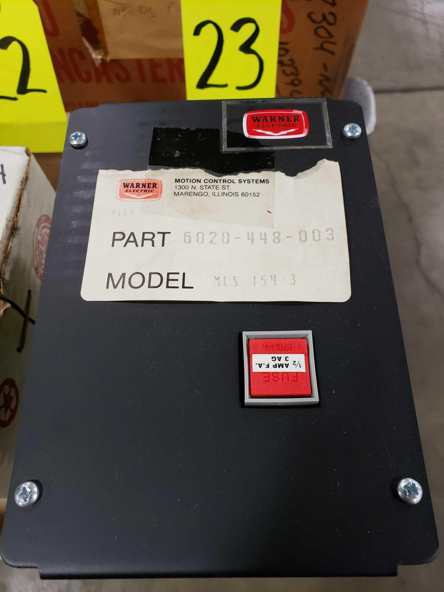 Warner Electric drive model MCS-154-3, part number 6020-448-003. New in box. - Image 2 of 3