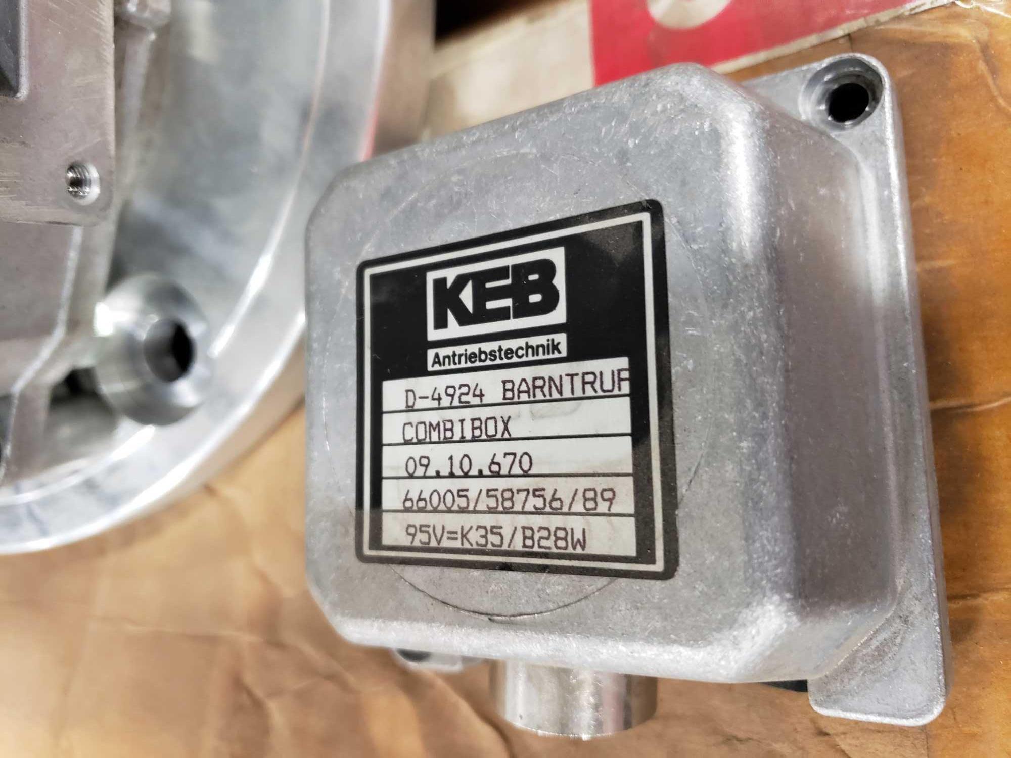 KEB Combibox model 09.10-670. New in box. - Image 2 of 3