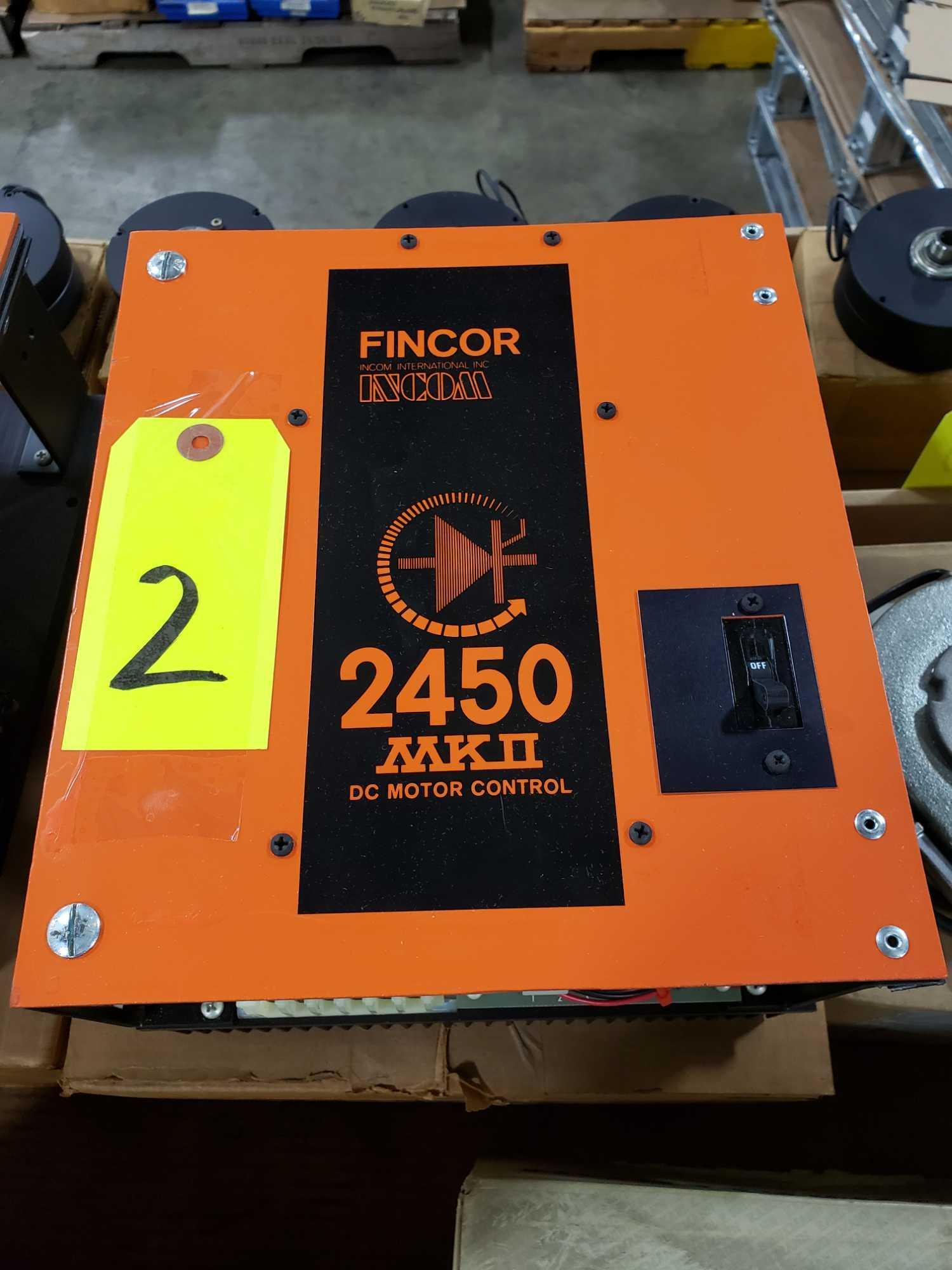 Fincor DC motor control model 2450 MKII part number 2453, 5hp 230v. New in box. - Image 3 of 3
