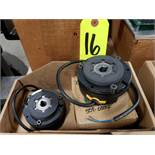 Qty 2 - Clutch brakes as pictured. New.