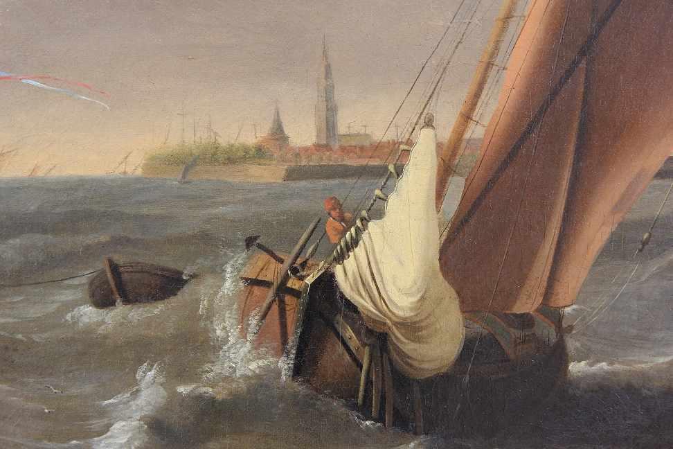 Backhuizen, Ludolf (Emden 1631 - 1708 Amsterdam) after - Bild 4 aus 6