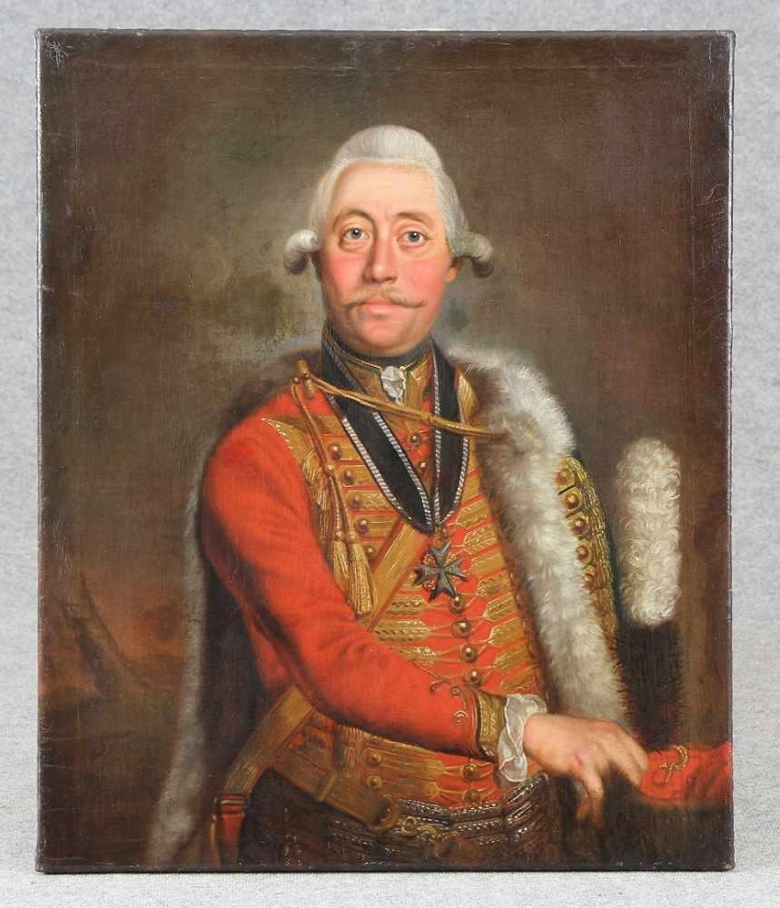 Lisiewski, Georg von (*1674 - 1750 Berlin) attr. - Bild 2 aus 4