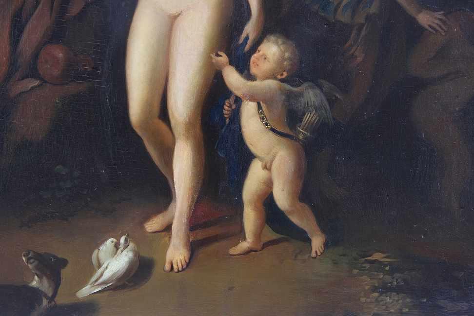 Netscher, Caspar (Heidelberg 1639 - 1684 Den Hague) after - Bild 4 aus 4