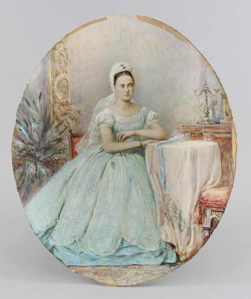 Czachorski, Ladislaus von (Grabowczyk near Lublin 1850 - 1911 Munich, recte Władysław Czachórski) - Bild 2 aus 4