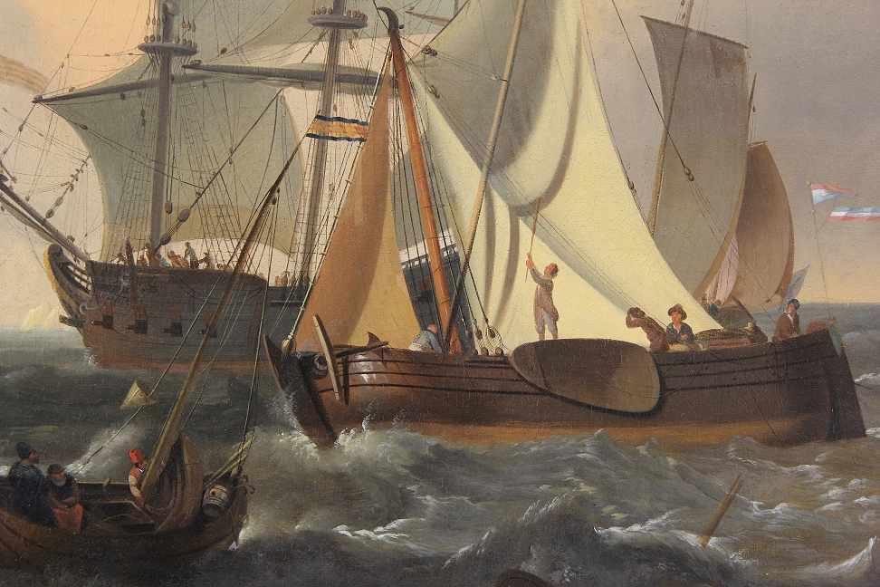 Backhuizen, Ludolf (Emden 1631 - 1708 Amsterdam) after - Bild 3 aus 6