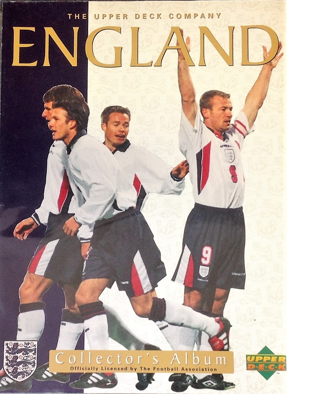 Lot 22 - Football collection England F. A collectors album 81 fantastic cards of England legends and historic