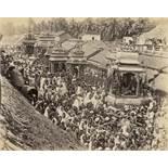 Travel Album India, Ceylon and Italy: Private souvenir and travel album of a trip to India and Ce
