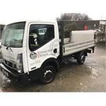 Nissan NT400 CABSTAR 34.12 SWB DIESEL DROP SIDE TRUCK, registration no. PN15 JVX, date first