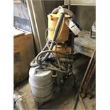 Weha KON-16-10 Mobile Dustless Sand Blasting Unit, 10 bar MWP, serial no. 053, year of manufacture