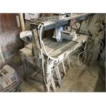 Metalquattro TIGER K120 STONE CUTTING TABLE SAW, bed approx. 1.45m x 0.64m