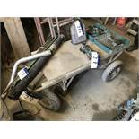 Four Wheel Flat Cart