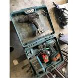 Makita Cordless Drill, with battery, charger and carry case