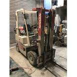 Nissan PH01A15U 1500KG LPG FORK LIFT TRUCK, chassis no. PH01E2000012, indicated hours 1412 (at
