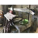 Metalquattro TIGER 200NM STONE CUTTING TABLE SAW, serial no. 13/200mm, bed approx. 2.3m x 0.8m, year
