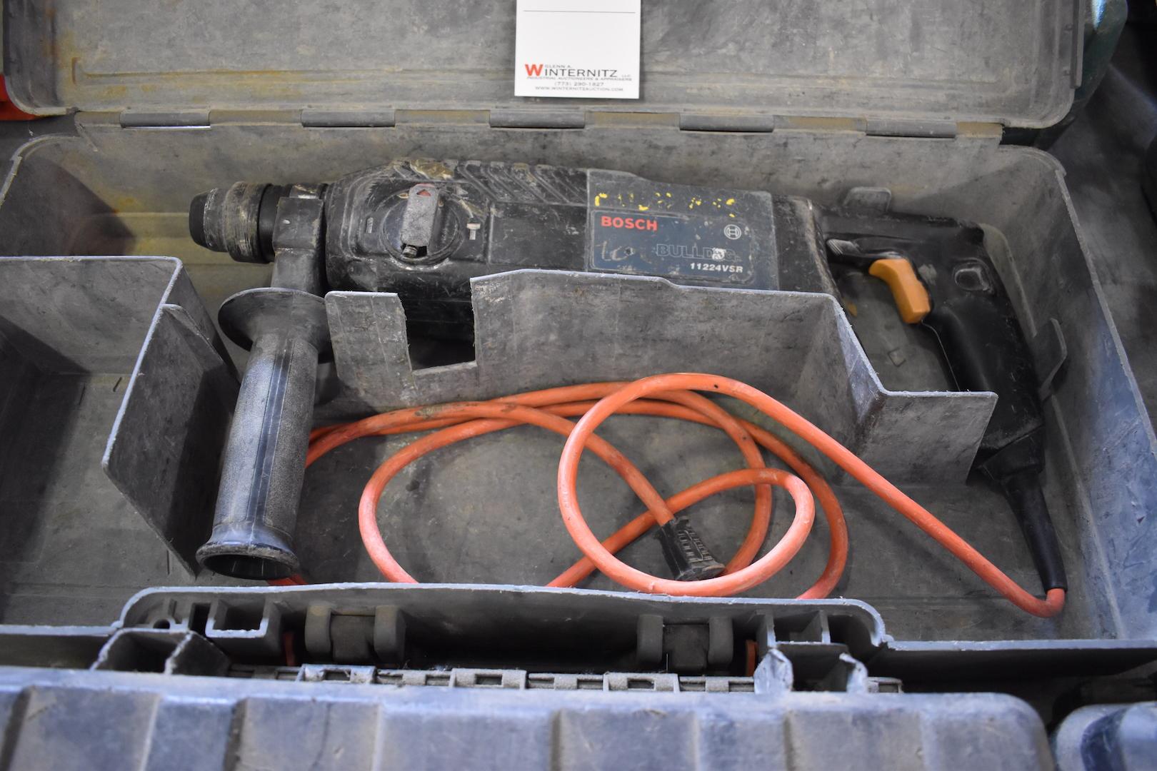 Lot 9 - Bosch Bull Dog Model 11224 VSR Rotary Hammer
