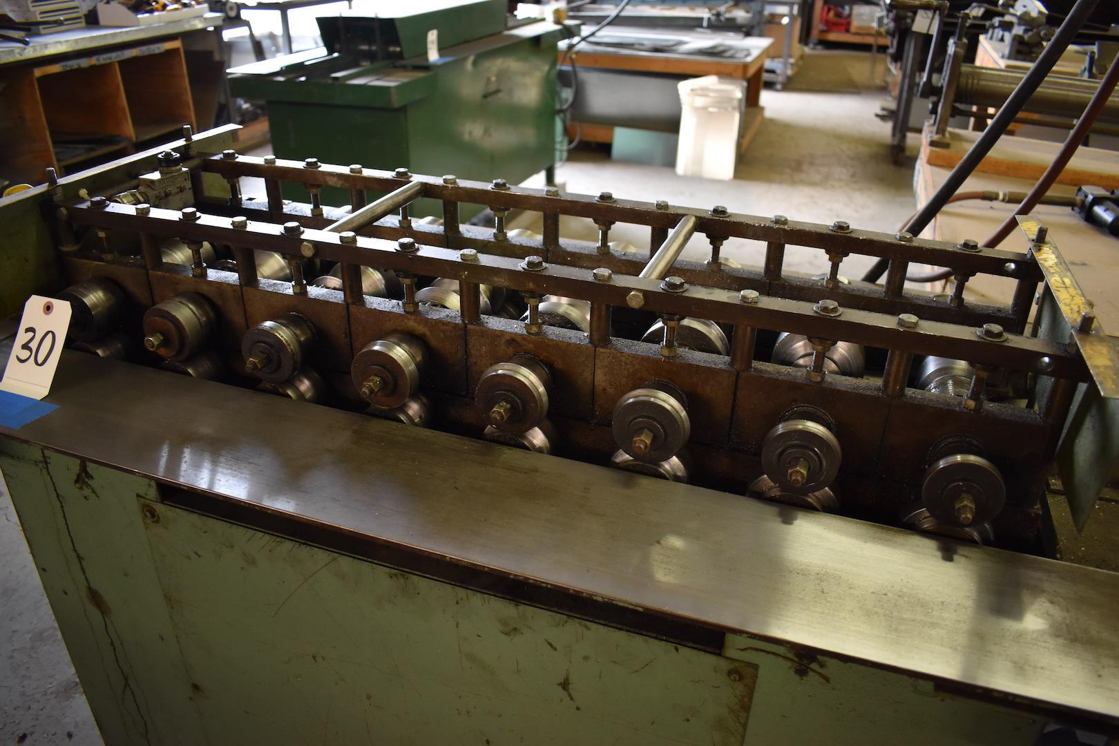 Lot 30 - Engel Model M-825 8-Roll Snap Lock Roll Former, S/N 749-86