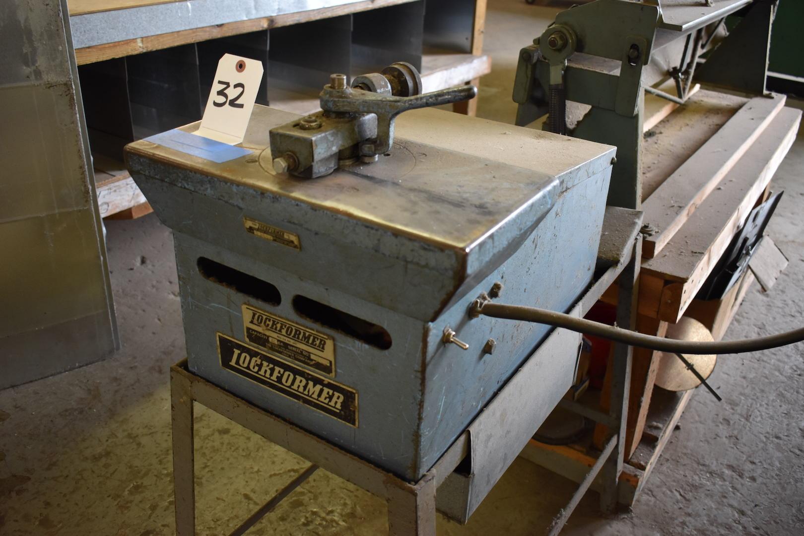 Lot 32 - Lockformer 20 ga. Flanging Attachment, S/N 65862