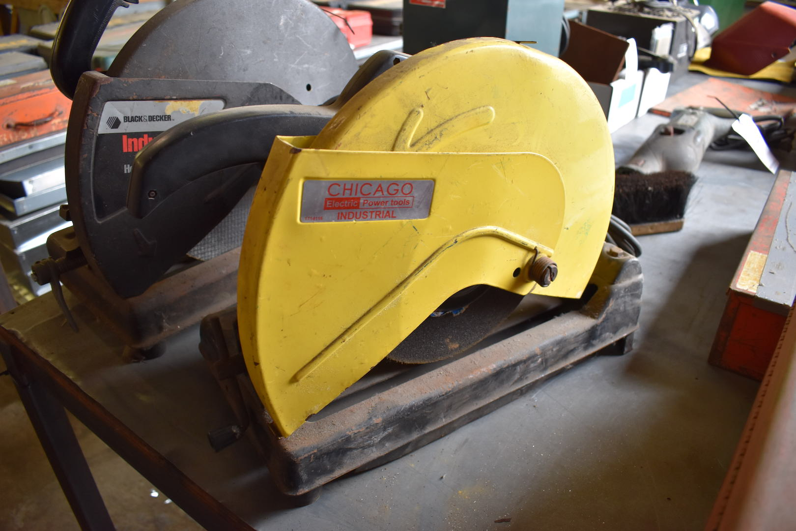 Lot 25 - Chicago Electric Power Tools Industrial Abrasive Cut-off Saw