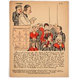 Advertising Poster Political Humorous Engraving Frison Our Priests
