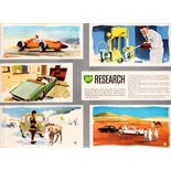 Advertising Poster BP Oil Research
