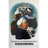 Advertising Poster Kronborg Commercial Maritime Museum