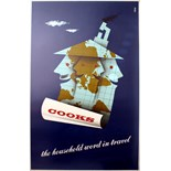 Advertising Poster Cooks, the Household Word in Travel