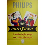 Advertising Poster Philips Philishave
