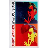Advertising Poster Andy Warhol Exhibition Poster Louisiana Museum Denmark1978