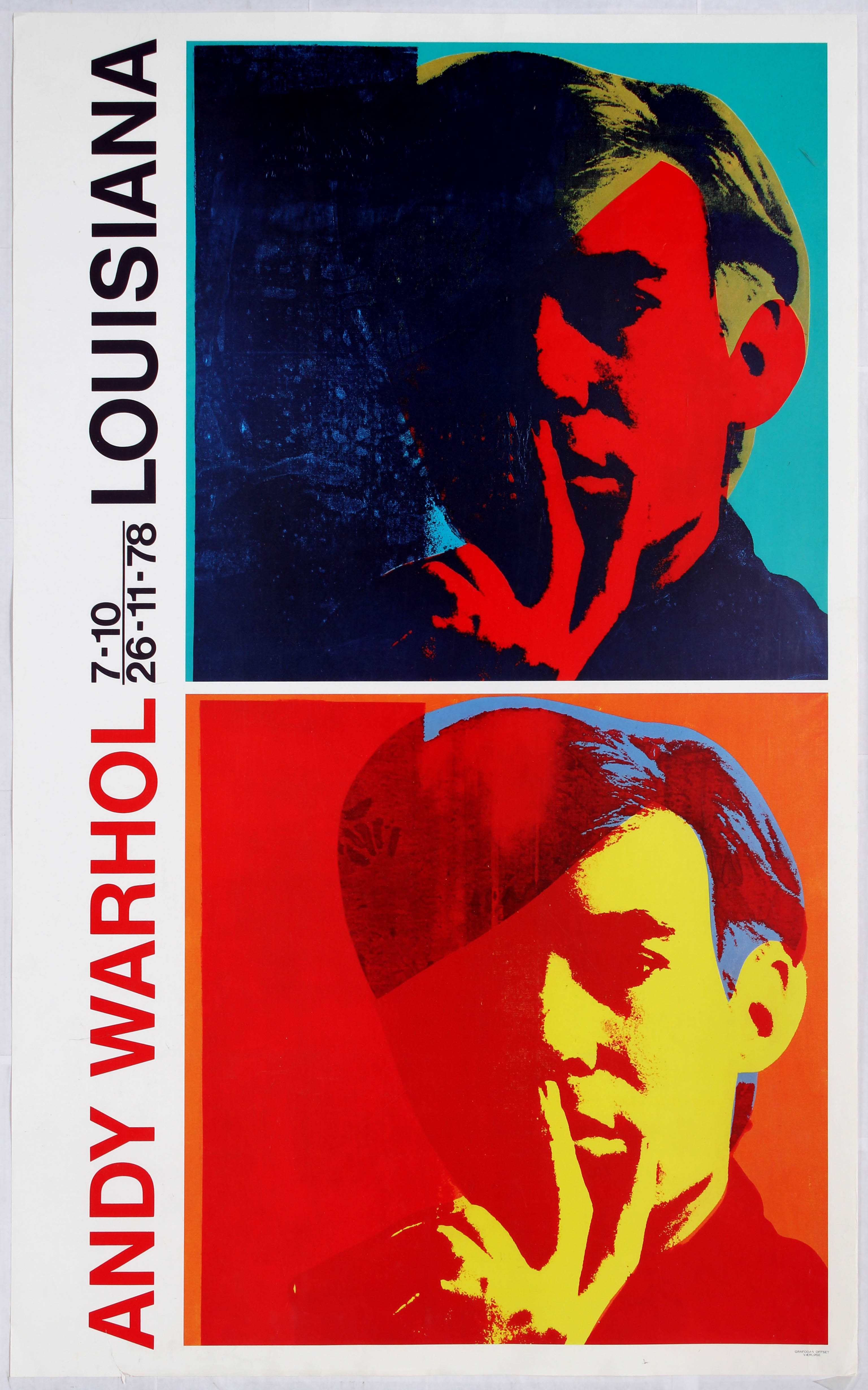 Advertising Poster - Andy Warhol Exhibition Poster, Louisiana Museum ...