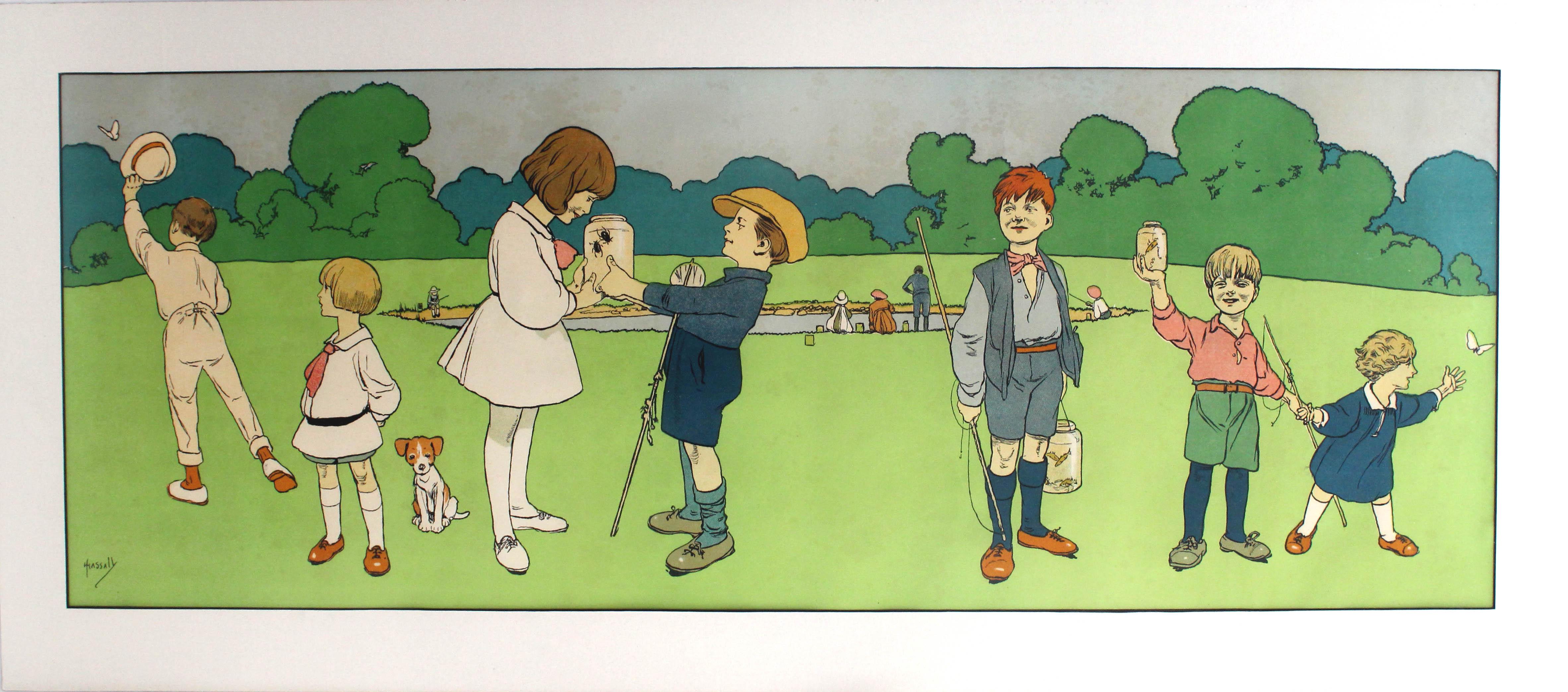 Advertising Poster Activities for Children Victorian Hassall - Image 4 of 5