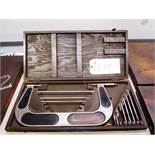Brown & Sharpe 6''-12'' OD Micrometer with Standards