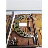 Mitutoyo 12''-16'' OD Micrometer with Standards