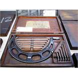 Starrett 6''-12'' OD Micrometer with Standards