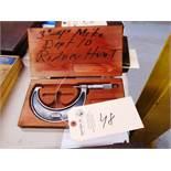 Starrett 3''-4'' Micrometer