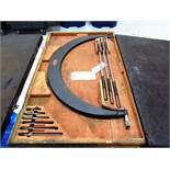 Starrett 24'' - 29'' OD Micrometer with Standards