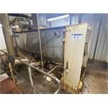 Gardner 2,000 litre Jacketed Stainless Steel Ribbo