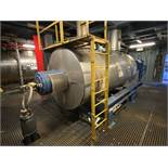 Giovanola 3000 litre JACKETED STAINLESS STEEL ROTA