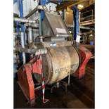 Part Stainless Steel Horizontal Mixer, with gearbo