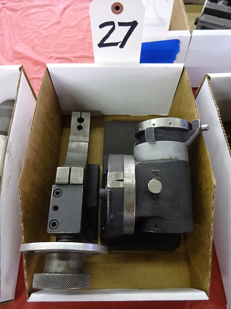 Lot 27 - Poly-Choke Sharpening Fixture for Taps & Drills