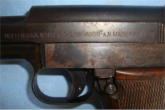 WW1/WW2 German Military/Police Mauser Model 1914/34 7 65mm