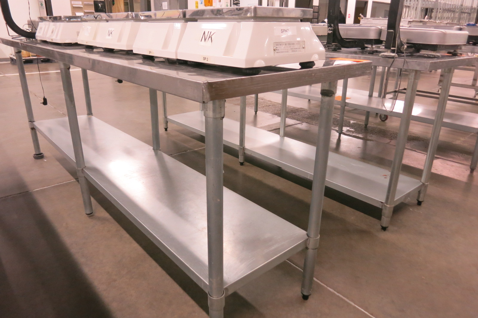 Lot 127 - Stainless Table
