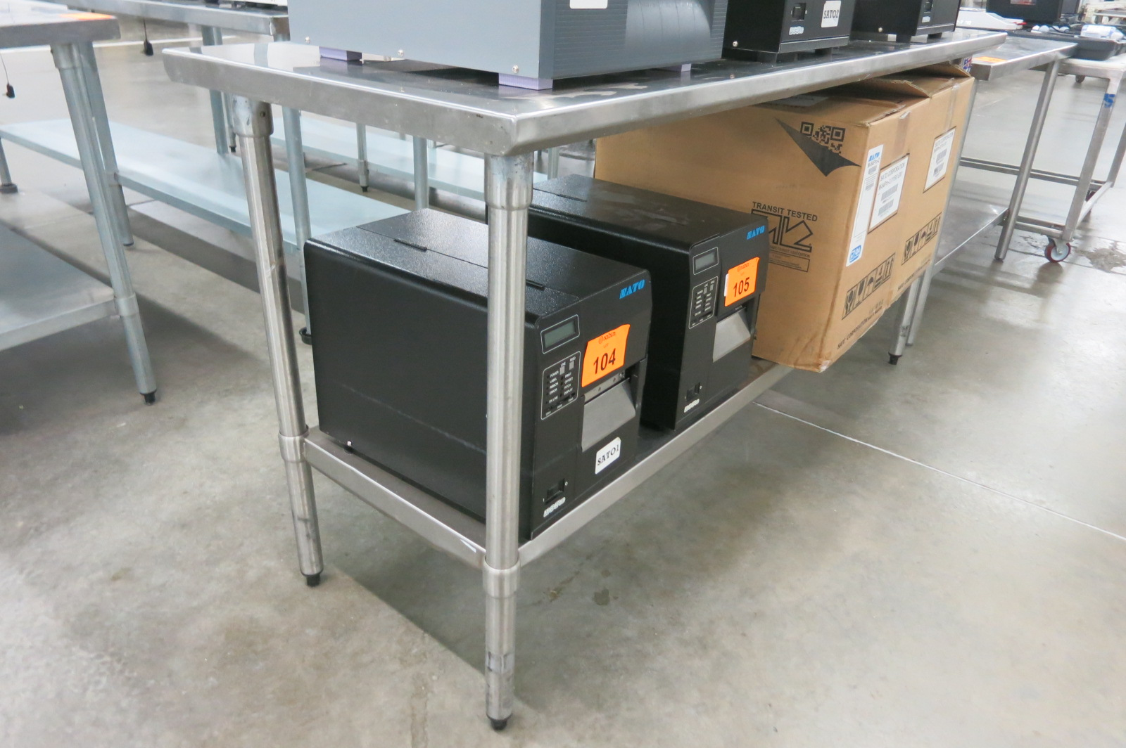 Lot 130 - Stainless Table