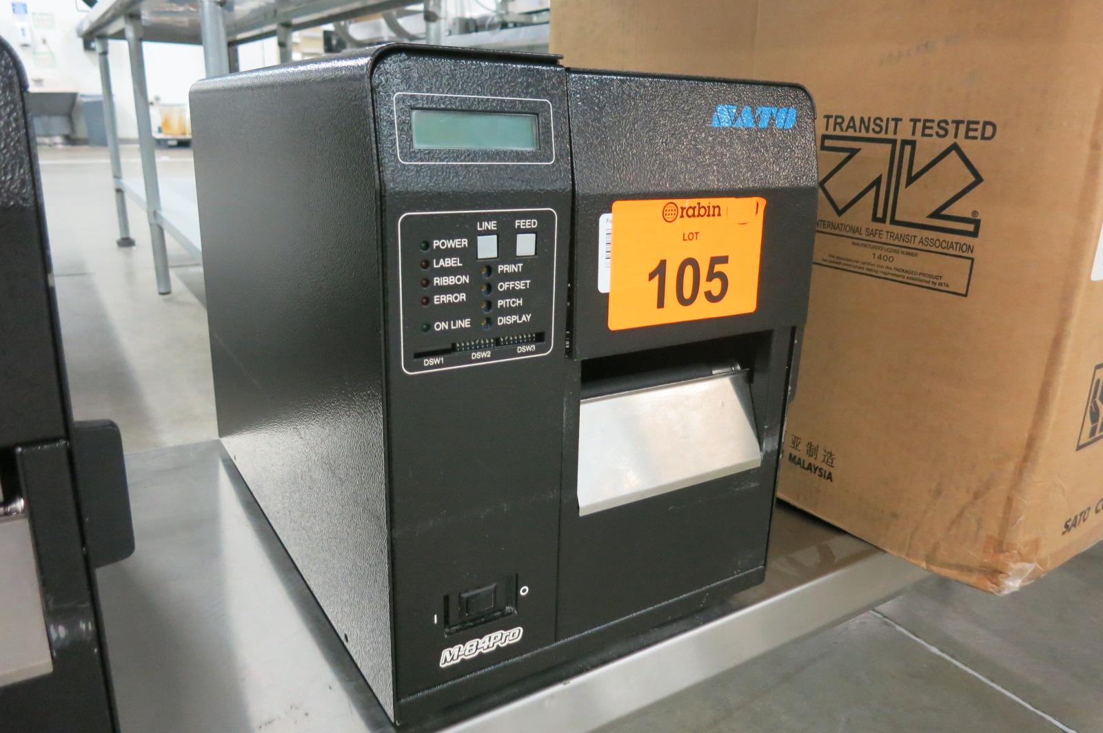 Lot 105 - Bar Code Printer