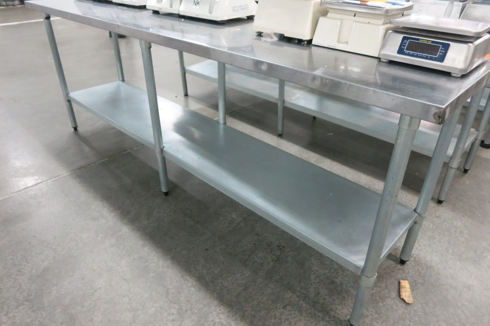Lot 125 - Stainless Table
