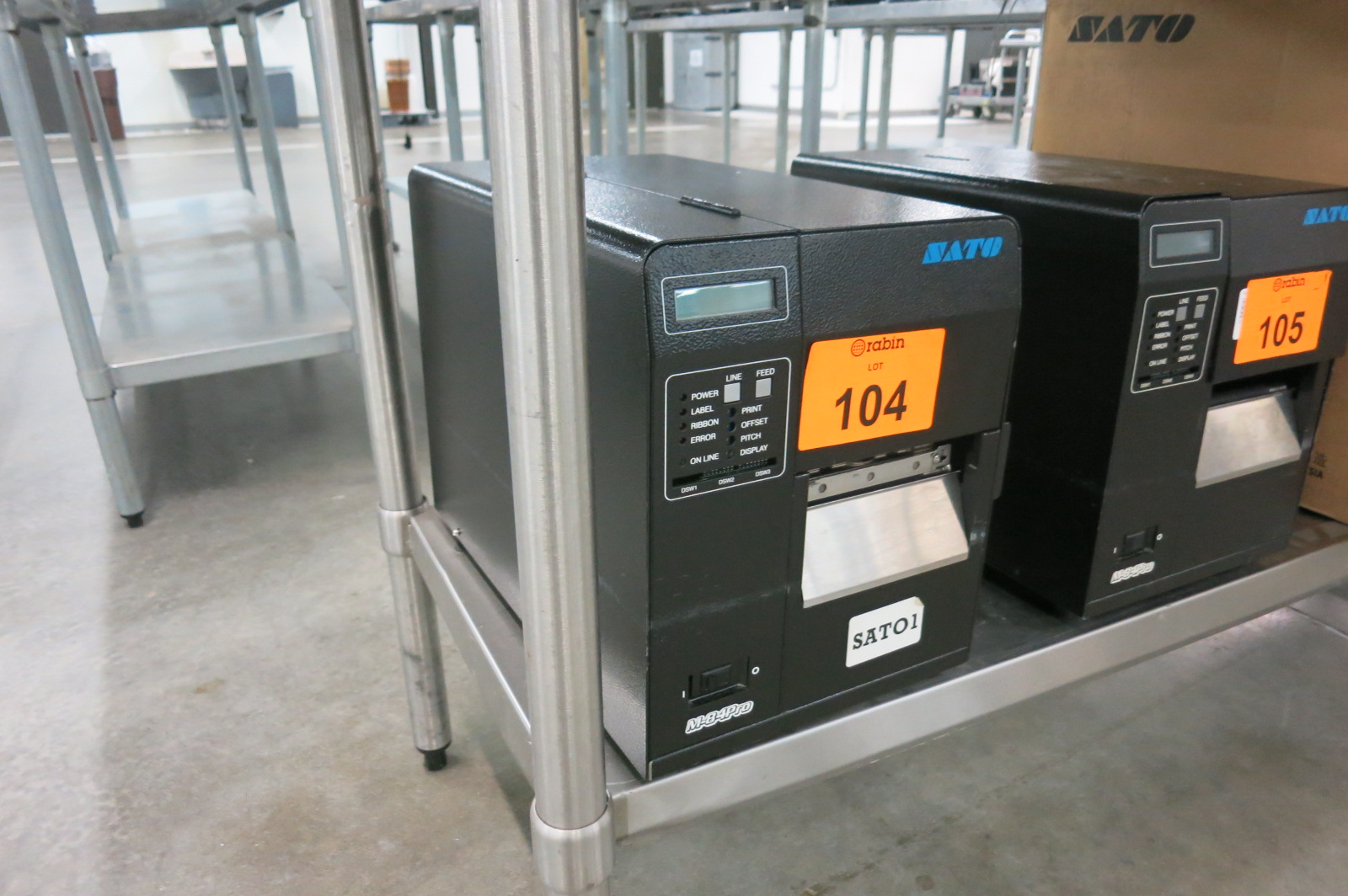 Lot 104 - Bar Code Printer