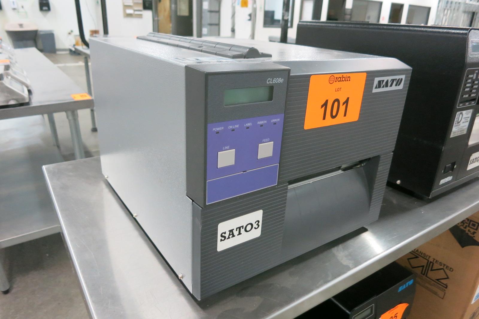 Lot 101 - Bar Code Printer
