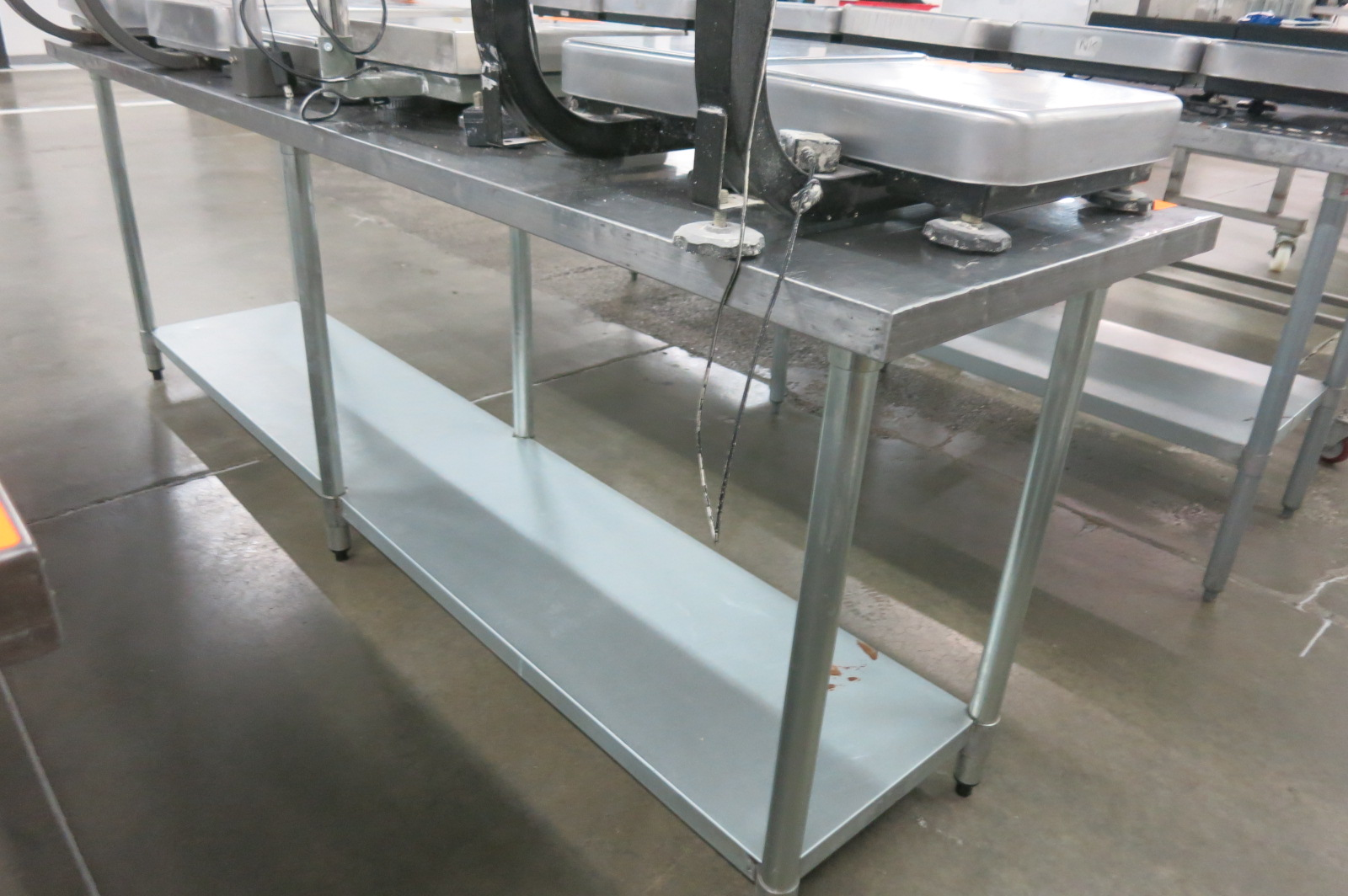 Lot 128 - Stainless Table